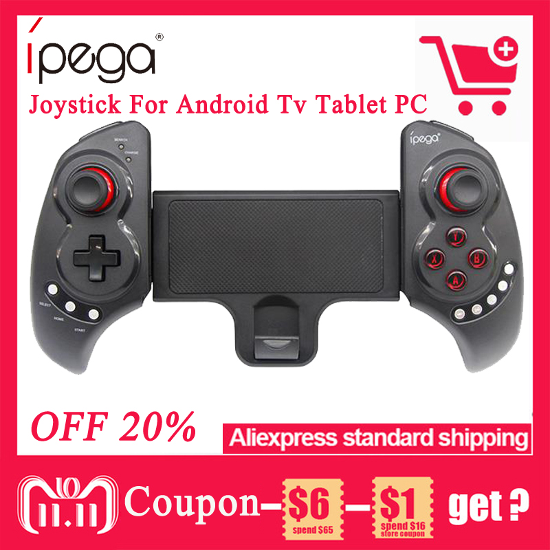 IPEGA PG-9023 PG 9023 Wireless Gamepad Bluetooth Telescopic Game Controller for Android/ iOS Tablet PC Smartphone Joystick Pad ipega pg 9021 bluetooth wireless gamepad controller joystick for ios android