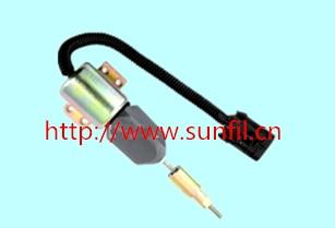 Stop Solenoid ValveOEM SOLENOID 1751ES-12E6UC4B1S5 12V stop solenoid 1502 12d6u2b2s2a