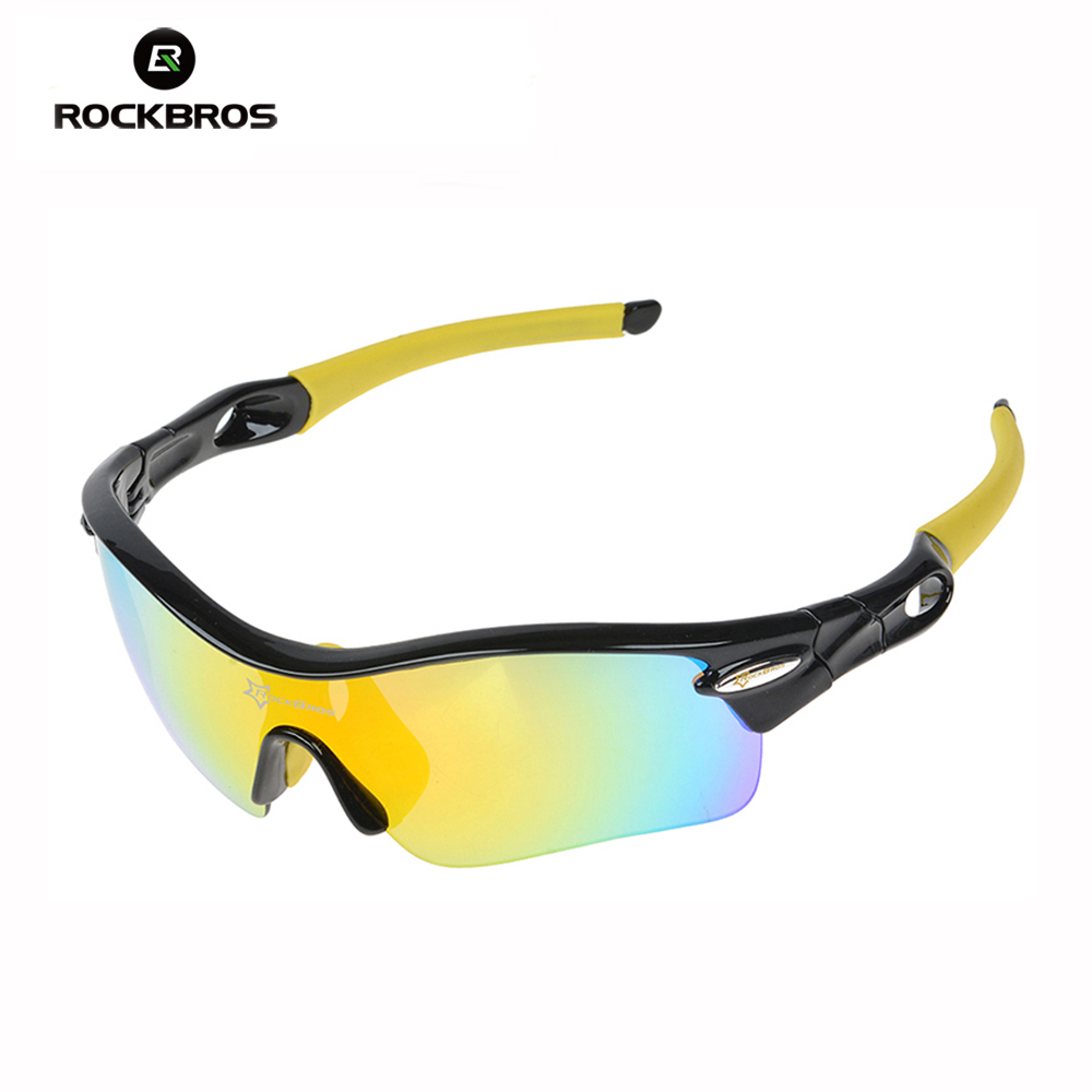 ROCKBROS Ultra Lightweight Polarized Cycling Glasses Bike Bicycle Goggles Anti Ultraviolet Sunglasses 3 Colors-in Cycling Eyewear from Sports & Entertainment    1