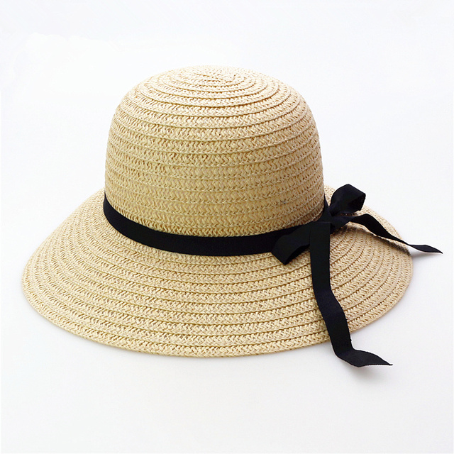 New summer Beach Caps hats Beach hat shading is prevented bask in outdoor  straw hat Women 259fbacd10c