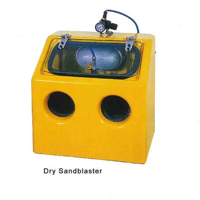 220V Benchtop Dry Sandblasting Sandblaster Jewelry Making Machine