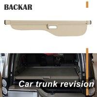 Backar 1 компл. для Land Rover Discovery 3 4 LR3 LR4 2004 2016 автомобиль задний багажник шторки черный щит безопасности тени аксессуары