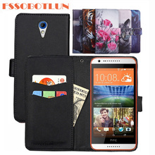 FSSOBOTLUN 9 Kleuren Voor HTC Desire 620 Case PU Lederen Retro Flip Cover Shell Magnetische Mode Portemonnee Gevallen Kickstand Band