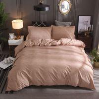 Duvet Cover linen white red blue soft retro style 2/3pcs Duvet Cover Sets Soft Polyester Bed Linen Flat Pillowcase