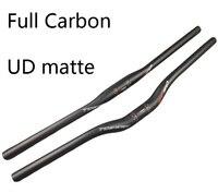 Carbon Handlebar MTB Bicycle Handlebar UD Matte Carbon Cycling Bike Handle Bar 640 740mm 31 8mm