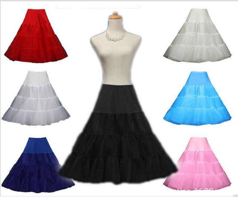 Best Quality Petticoats for Wedding  Black crinoline girls enaguas novia underskirt rockabilly petticoat S/M L/XL 2XL 4XL 6XL