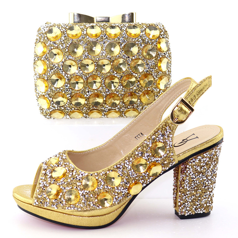 Assorti Or Sb8326 De Aso Pour 6 Chaussures Shinning Noce Et Italiennes Sac Chaussure Africain Ebi Ensemble trgtqUz