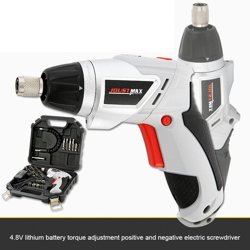 4.8 V Электрический Отвертка Parafusadeira в Батерия с chargeable Бесшнуровая батарея сверла 45 в 1 инструменты DIY питания