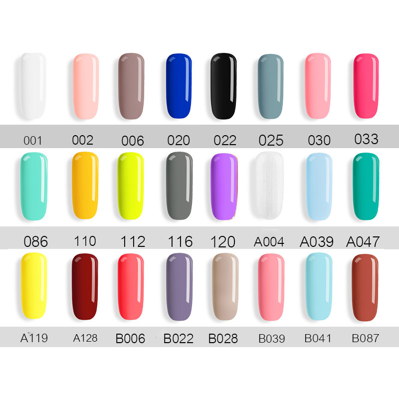 New Free Shipping Nail Art Design Manicure 40Color 7.5Ml Soak Off Enamel Gel Polish UV Gel Nail Polish gel Lacquer Varnish - 2