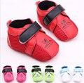 1 пара новая детская обувь фирменных первый ходоки младенческая 2015 сетка девочку обувь мягкой подошве обуви
