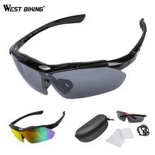 WEST BIKING Cycling Glasses Men Sports Cycling Sunglasses Ro