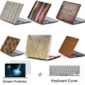 Wood Cover Case For Apple Macbook 11.6 12 13.3 15.4 Air Pro with Retina laptop Protector For Mac book 11 12 13 15 inch case