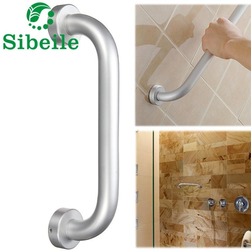 SBLE Aluminium Bathroom Bathtub Shower Safety Handle Bath Grip Grab ...