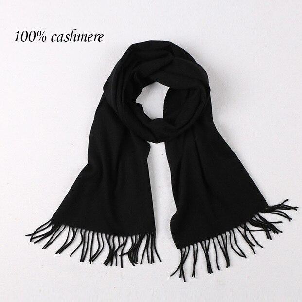 De alta calidad de hombre y mujeres bufandas mujer color puro cashmere bufandas gran chal bufanda de invierno Para mantener caliente bufanda Caliente lana