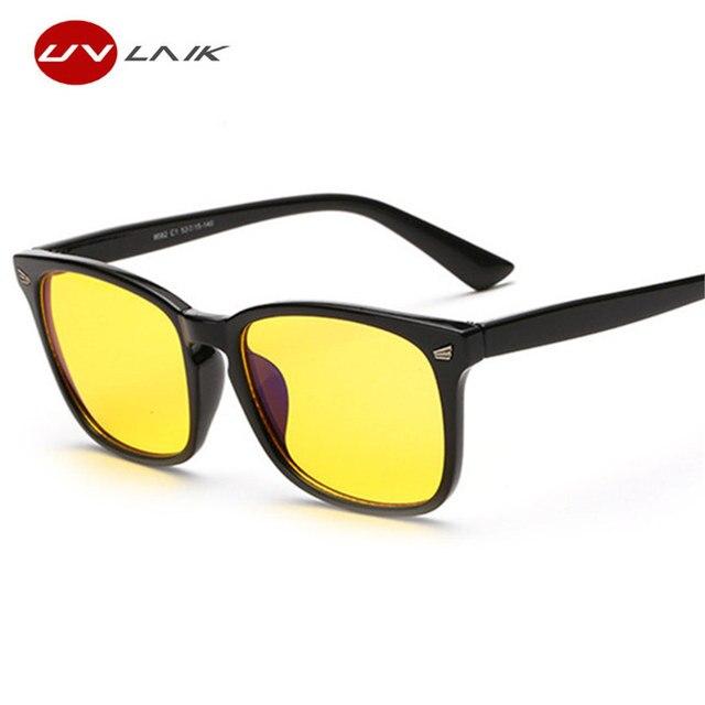abe29230994ee UVLAIK óculos de Armação Óculos Óculos de Computador Gaming Óculos  Espetáculo Armações de Óculos Homens Mulheres