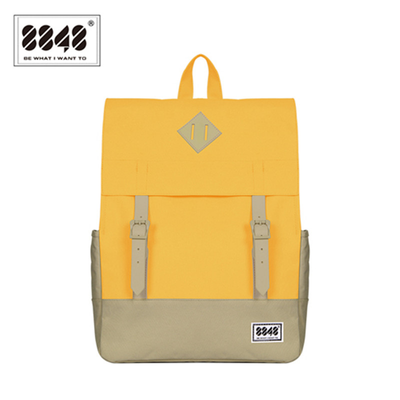 8848 Brand Women Backpack Preppy Style Backpacks Backpacking Waterproof Oxford Polyester School Bag Girls Student 173