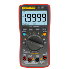 Рихметров RM303 Цифровой мультиметр True-RMS 19999 отсчетов Multimetro AC/DC Амперметр напряжения тока Ом транзисторный тестер
