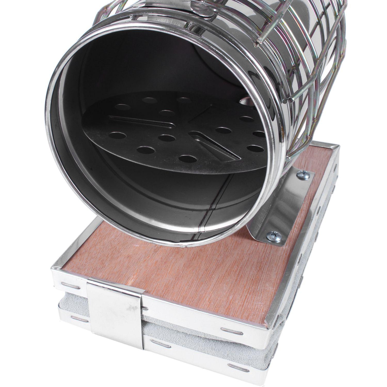 Image 5 - Hot Sale Stainless Steel Bee Smoker Beekeeping Smoker-in Beekeeping Tools from Home & Garden