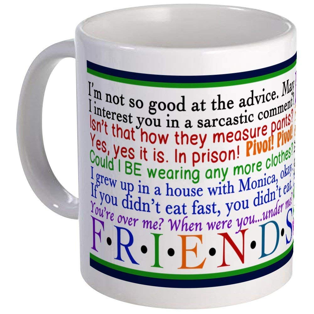 friends tv quotes unique coffee mug coffee cup in mugs from home