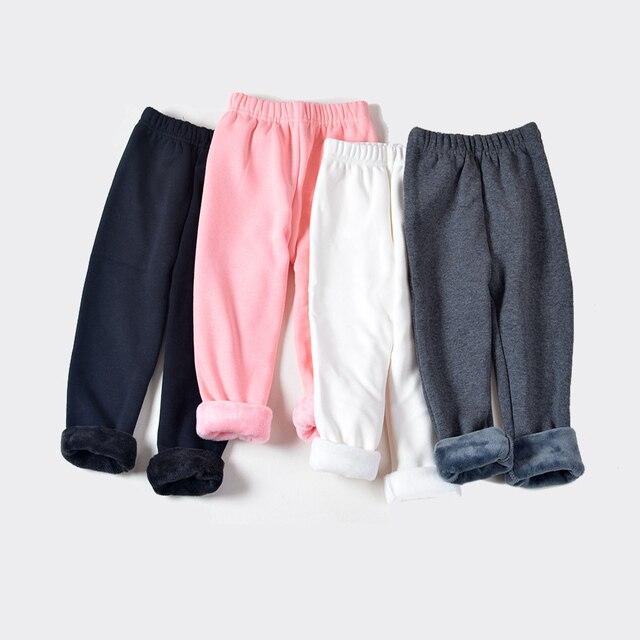 Di nuovo Modo, più di velluto skinny ispessimento di lunghezza della caviglia delle ghette delle ragazze dei bambini 3-11 Anni calzini di Cotone Caldo Pant SCW1109