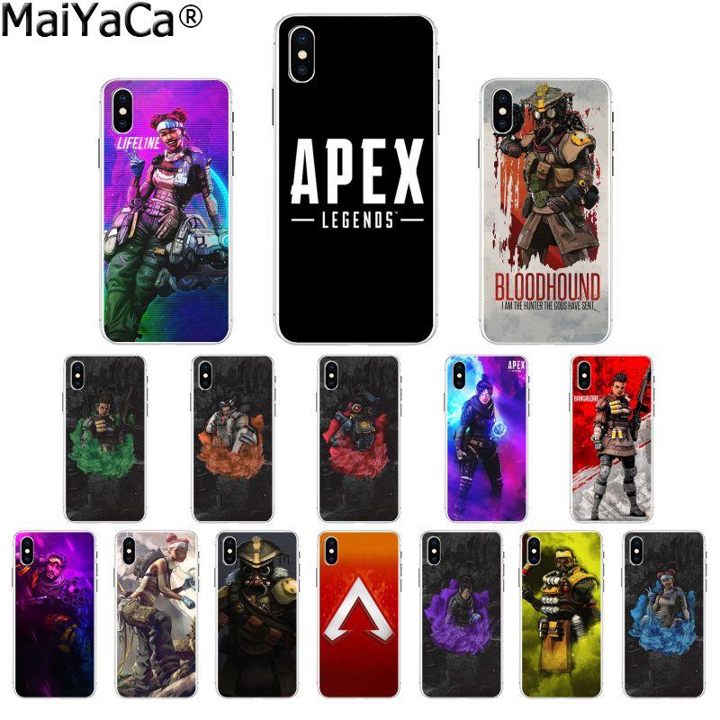 MaiYaCa Apex Legends hot game TPU Soft Silicone Phone Case