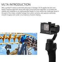 FreeVisinon VILTA Handheld 3 Axis sport Camera Gimbal przenośny stabilizator dla smartfonów iPhone 7 Plus 6 S7 pionowe fotografowania w Ręczny gimbal od Elektronika użytkowa na
