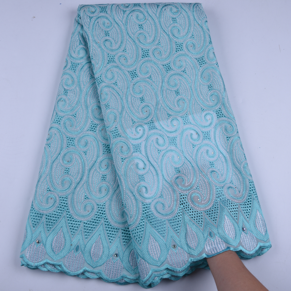 Hot Sale African Voile Lace Fabric High Quality Swiss Lace Fabric 2019 African Swiss Voile Lace
