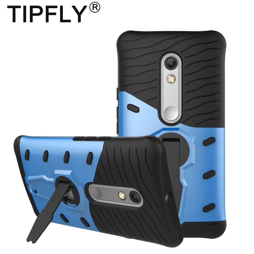TIPFLY Fitted Case For Motorola Moto X Play Armor Case Stand Cover Shell for Moto X Play 360 Rotating Back Cover Case