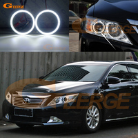 For toyota camry XV50 2011 2012 2013 2014 smd led Angel Eyes kit Day Light Excellent Ultra bright illumination DRL