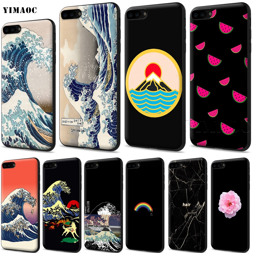 Phone Bags & Cases Maiyaca Koi Carp Fish Japanese Floral Cherry Phone Case Cover For Iphone 5 5s 6 6s 7 8 X Xr Xs Max Samsung S6 S7 Edge S8 S9 Plus Harmonious Colors