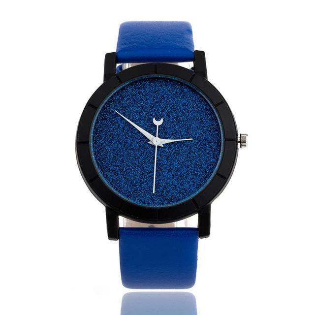 Zegarek Kwarcowy Księżyc