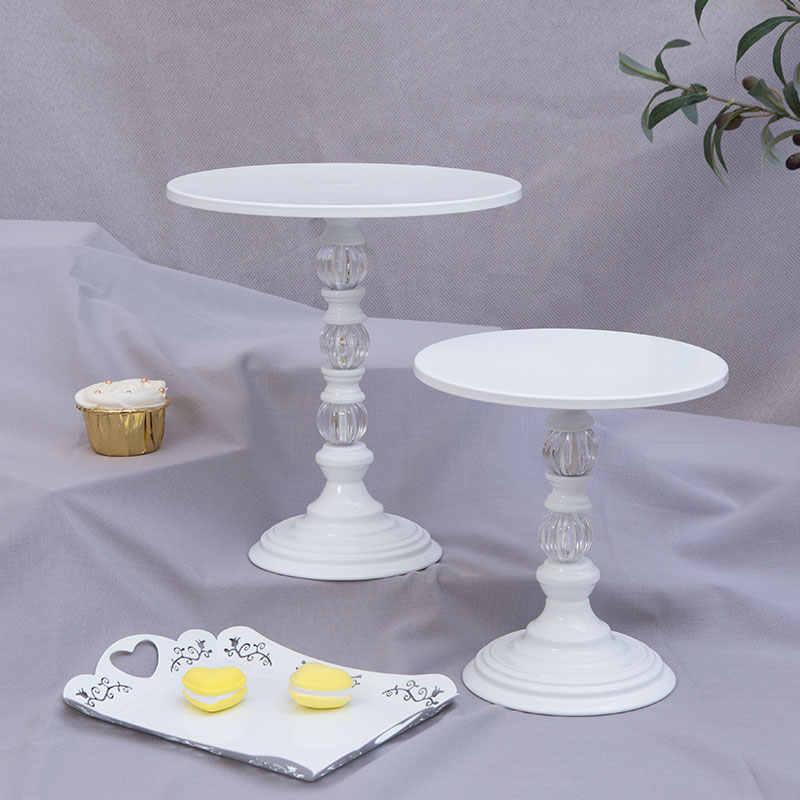 Белое сладкое десертное стол поставщик пекарь витрина торт стенд свадебный реквизит украшения инструменты полые кружева торт стенд набор
