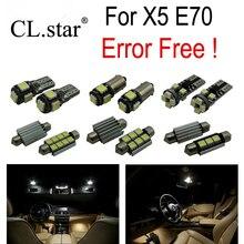 23 unids Error Bombilla LED Libre Kit de Luz Interior para BMW X5 E70 M xDrive30i xDrive30i M xDrive35d xDrive35i xDrive48i xDrive50i