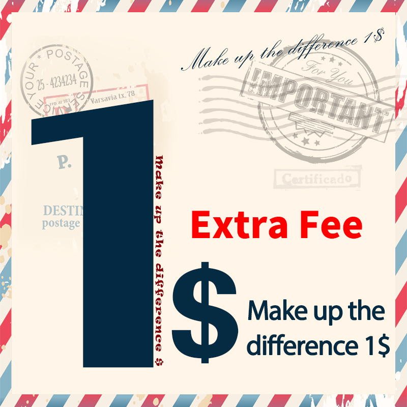 Дополнительная плата за стоимость доставки или стоимость продукта, ссылка для оплаты за дополнительный заказ и сборы