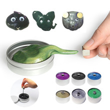 Squishy Magnetic Plasticine Art Modeling Clay Creative Slime Toy Rubber Mud Magnet Putty Novelty Reduce Pressure Anti-stress Toy