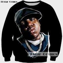 PLstar Cosmos Notorious B.I.G. Biggie Smalls Tupac Fashion Men 2Pac Sweatshirts Couples Sweats Unisex 3D Tops Hoodies Size S-5XL