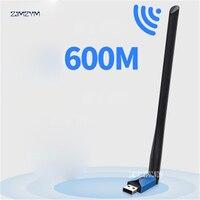 USB Wifi adapter TP LINK 600Mbps dual band high gain wireless USB wifi antenna TL WDN5200H 802.11ac Wireless Wifi USB 2.4G & 5G
