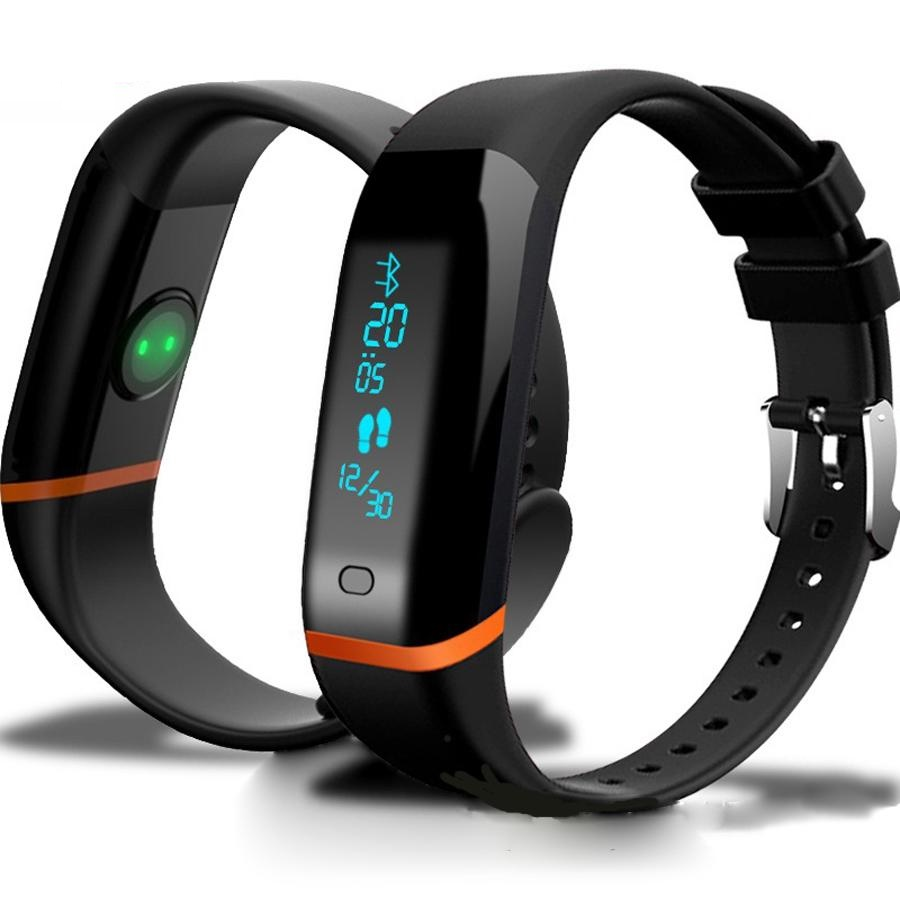 Original X12 HearthRate smart band Bluetooth Bracelet Monitor Wristband Calories Fitness Tracker smartband for Android iOS