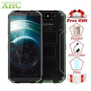Image 1 - 4G Blackview BV9500 5.7 inç Cep Telefonu 4 GB + 64 GB Octa Çekirdek Android 8.1 16MP 13MP NFC OTG Çift SIM Akıllı Telefon Kablosuz Şarj