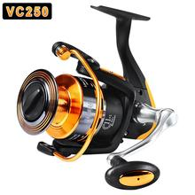 лучшая цена 12axis Fishing Reel Aluminium Alloy Spinning Wheel Reel Sea Fishing Equipment