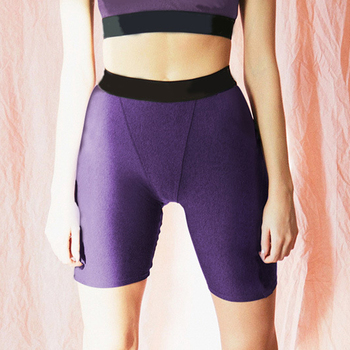 2019 Women Sexy Booty Shorts High Waist Shorts Workout Fitness Long Shorts Push Up Skinny Shorts for Girls Elastic Waist 3 Color Шорты