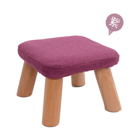 Children's Stools kindergarten solid +cotton fabric square Children Furniture 21*29 cm  whole sale hot new 2017 fashion quality