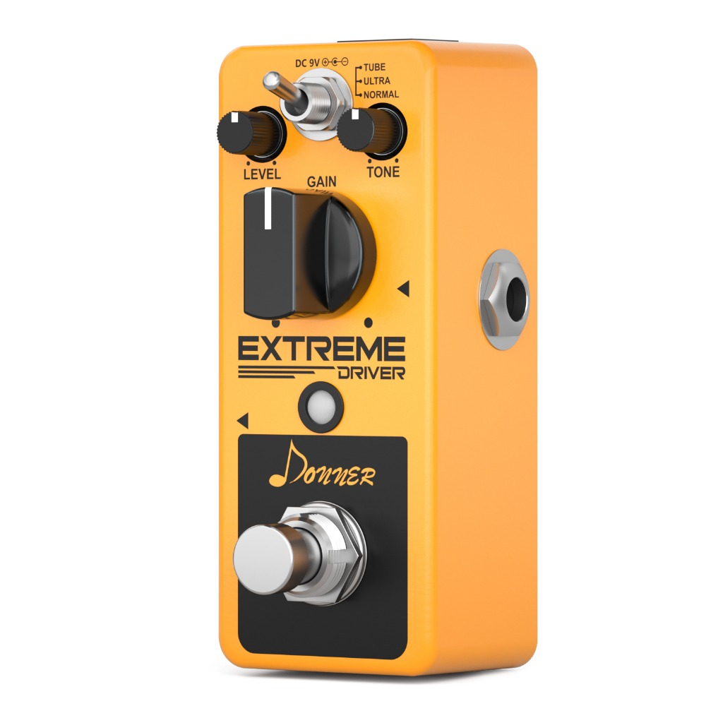 US $44 24 31% OFF|Donner New Extreme Driver ANALOG Distortion Guitar Effect  Pedal Rich Distorted Sound Iconic Classic Rock Distortion Guitar Part-in