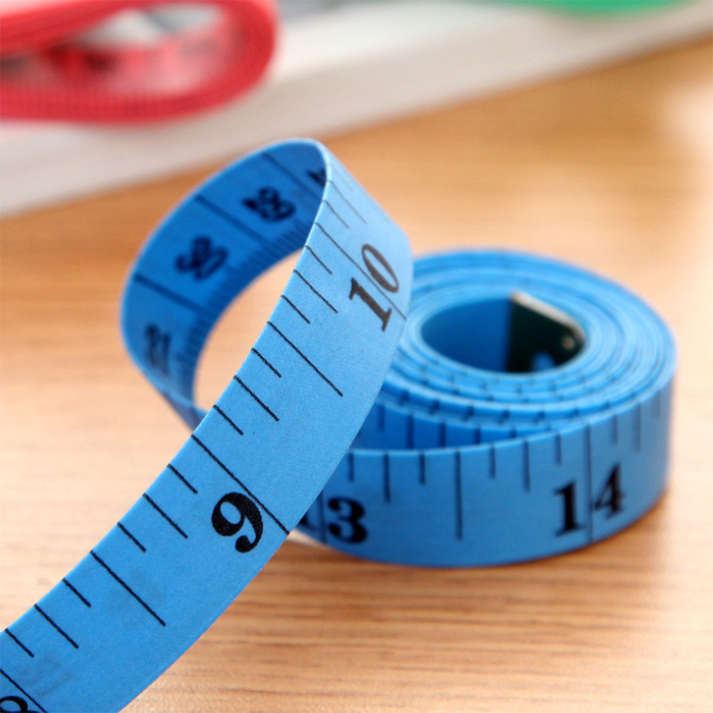 1.5m Long Multi-Function Soft Tape Measure 5 PCS Random Color Delivery