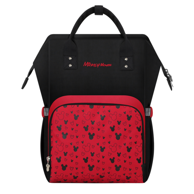 Disney Red Mickey Mummy Bag Baby Care Ny Backpack Large Capacity Mom Multifunction Outdoor Travel Diaper Bags In From Mother Kids
