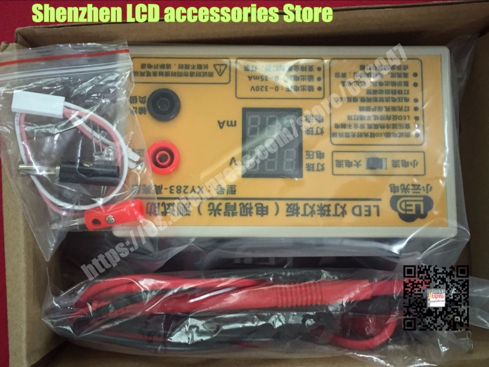 XY283 LED lamp beads Backlight Tester Tool Smart-Fit Voltage for All Size LCD TV Do not disassemble the screen 0-320V цена