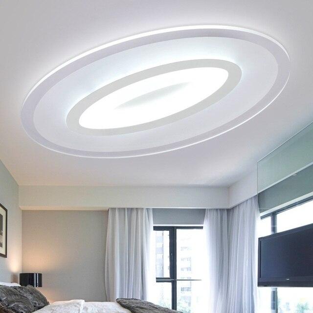 Slim Acrylic Starlight LED ceiling lamp home living room bedroom study lamp Commercial place Ceiling light 110-240V