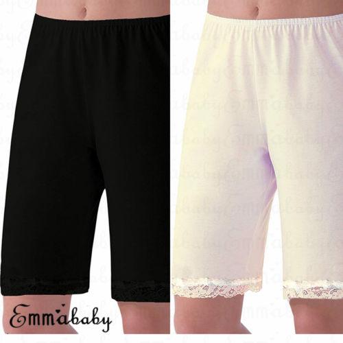 2018 Brand New  Women Short Pajama Soft Plus Size Lace Lounge Pants Pyjama Bottoms Trousers