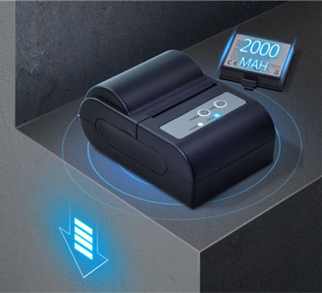 New Mini USB Bluetooth Thermal Printer Mobile 58mm Pocket portable ticket receipt support ESC POS have
