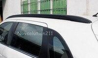 1 set Car styling Roof Top Mounted Rack Rails Bar Black Color For Mitsubishi outlander sport ASX 2013 2014 2015 2016